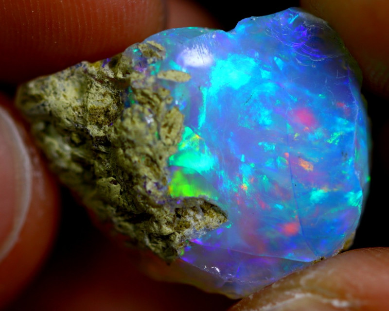 11cts Ethiopian Welo Rough Opal / WR1266
