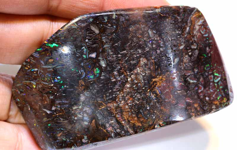 315 cts- PART-POLISHED YOWAH OPAL ROUGH  DT-7092