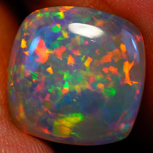 6.13 CT 13X13 MM Extra Fine Quality  Welo Ethiopian Opal-GC613