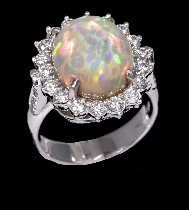 Welo Dark Opal Ring