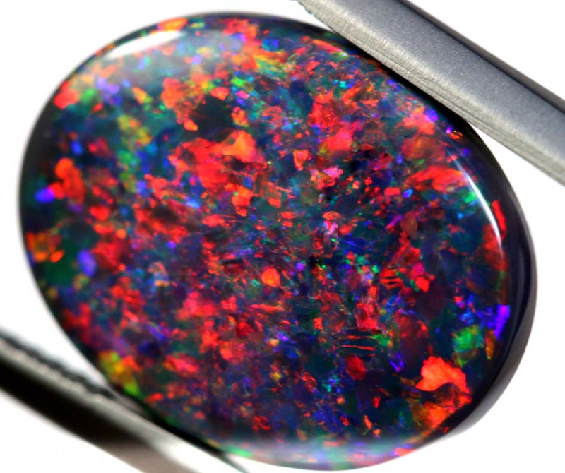 N1 -  7.79CTS QUALITY BLACK OPAL COLLECTOR OPAL  INV-18035D/A-INVESTMENTOPA