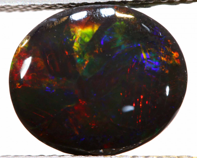 N1 - 3.15 CTS  QUALITY BLACK OPAL SOLID STONE  TBO-582