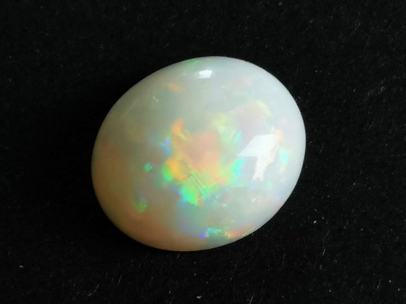White Crystal Opal - Coober Pedy Australia - 2.29 Cts