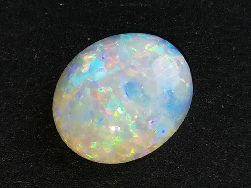 Gem Grade Crystal Opal - Coober Pedy Australia - 0.77 cts
