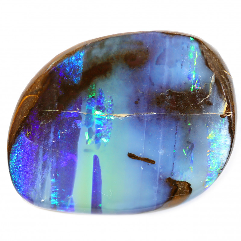 320CT POLISH BOULDER OPAL STONE  [CS152]