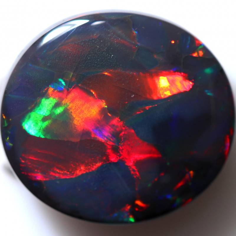 15.00 CTS  COLLECTORS BLACK OPAL -FROM  LIGHTNING RIDGE - [LRO1]
