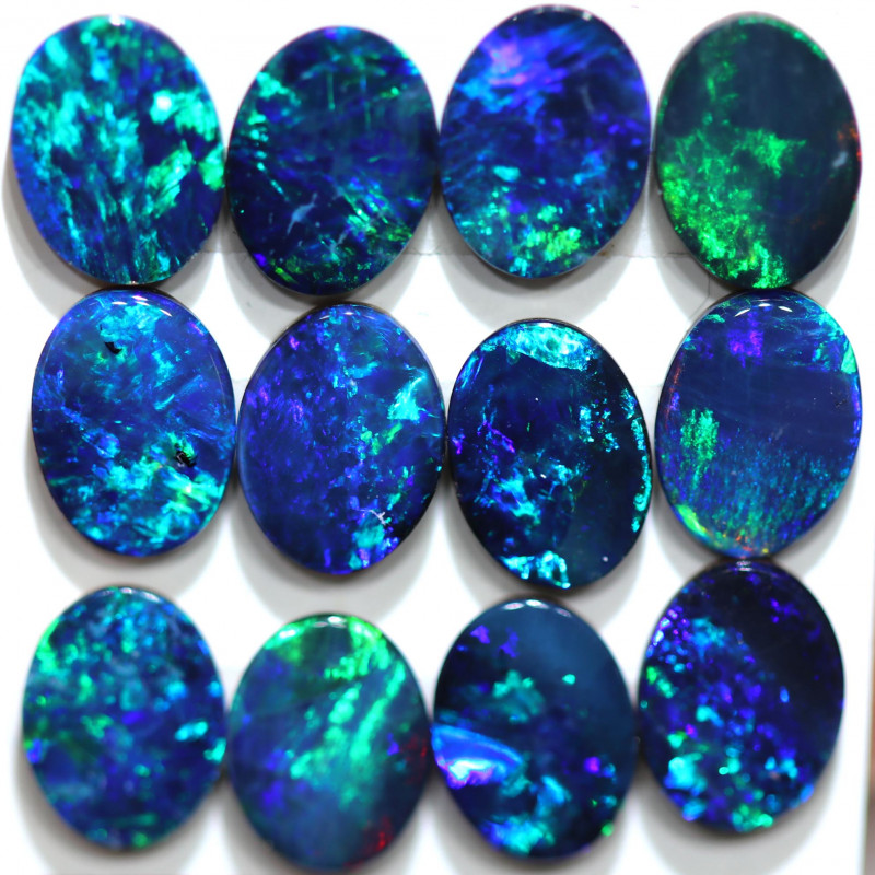 9.27 CTS OPAL DOUBLET PARCEL CALIBRATED  [SEDA3128]