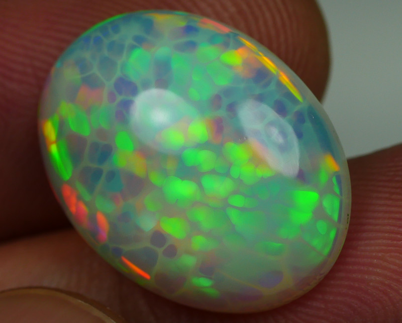7.370 CRT WONDERFULL FLOWER SPIDER HONEYCOMB BEAUTY COLOR WELO OPAL-