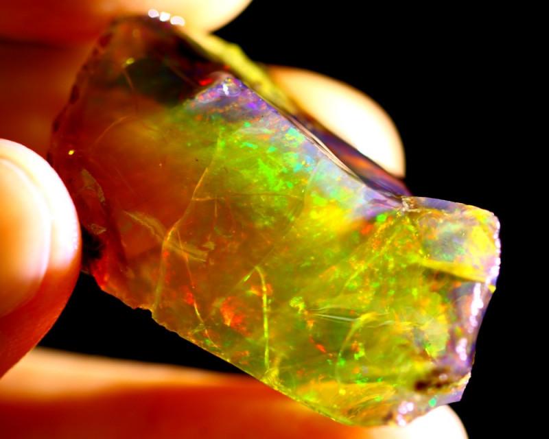 62cts Ethiopian Crystal Rough Specimen Rough / VK29