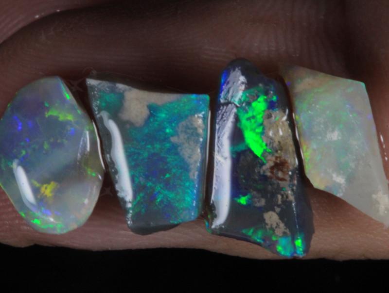 #6 -Rough Opal from  Lightning Ridge [25832]