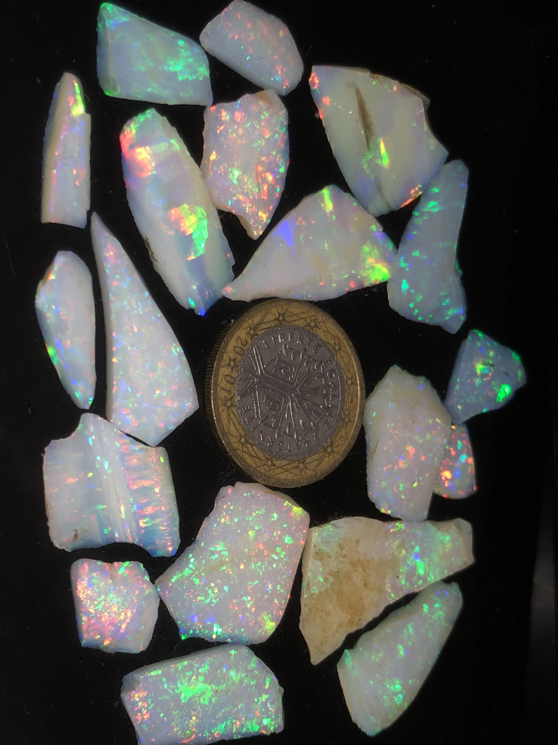 100ct HIGH QUALITY BRAZILIAN OPAL ROUGH CLEAN AND NO CRACKS OR SAND 7