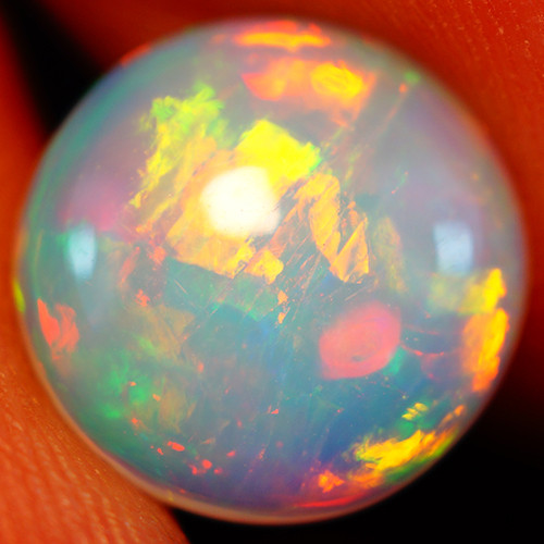 1.74 CT 10X10 MM Top Quality Natural Welo Ethiopian Opal-GD440