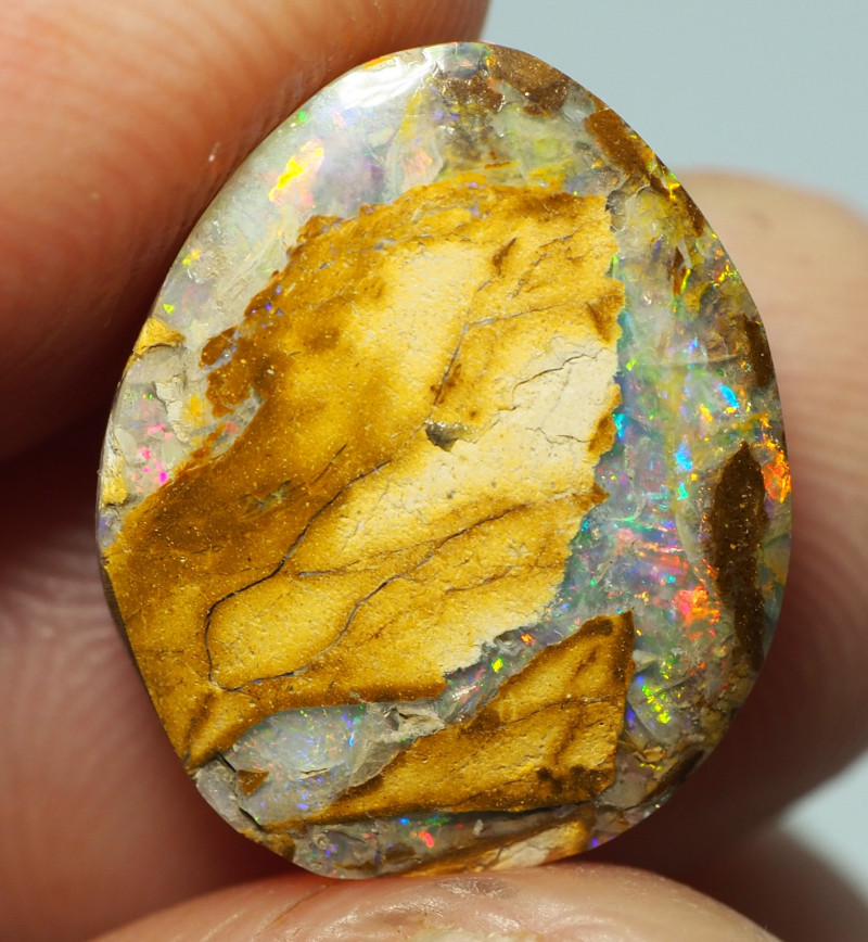 5.05CT WOOD REPLACEMENT BOULDER OPAL ST557