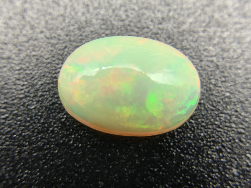 2.76 ct ethiopian Opal Cabochon Natural Gemstone OVAL Shape