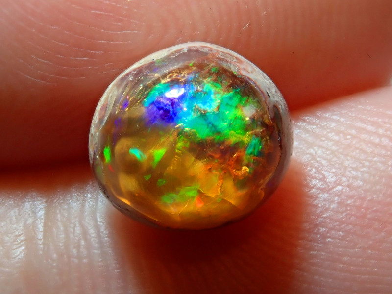 2.67ct Mexican Matrix Cantera Multicoloured Fire Opal