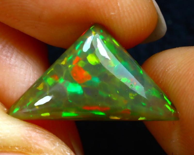Welo Opal 3.51Ct Natural Ethiopian Play of Color Opal JN24