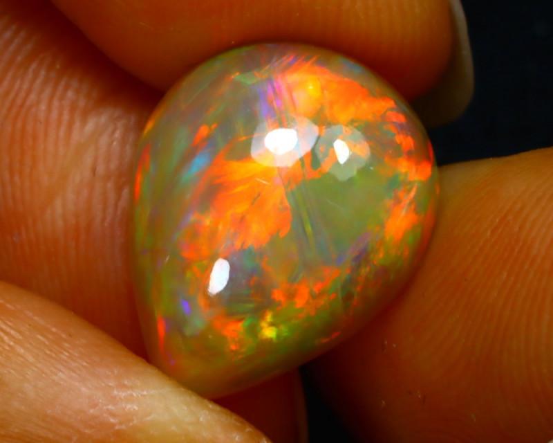 Welo Opal 4.79Ct Natural Ethiopian Play of Color Opal JN25