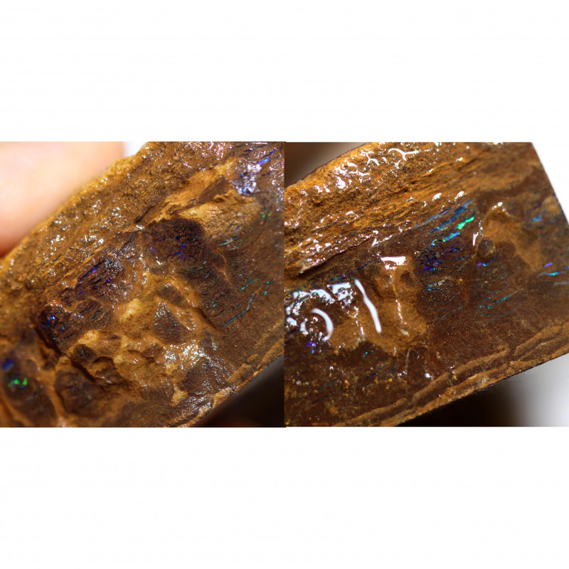 2140.00 CTS TWO BOULDER MATRIX SLAB PARCEL [BY8320]MUST SEE VIDEO