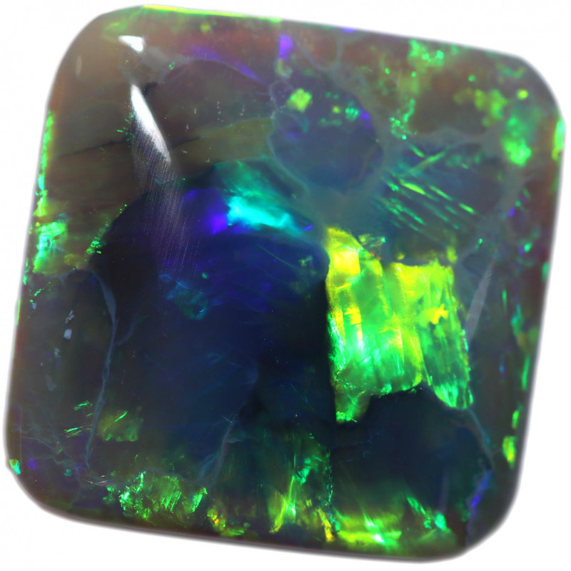 26.84 CTS BLACK OPAL STONE-FROM  LIGHTNING RIDGE - [LRO1056]
