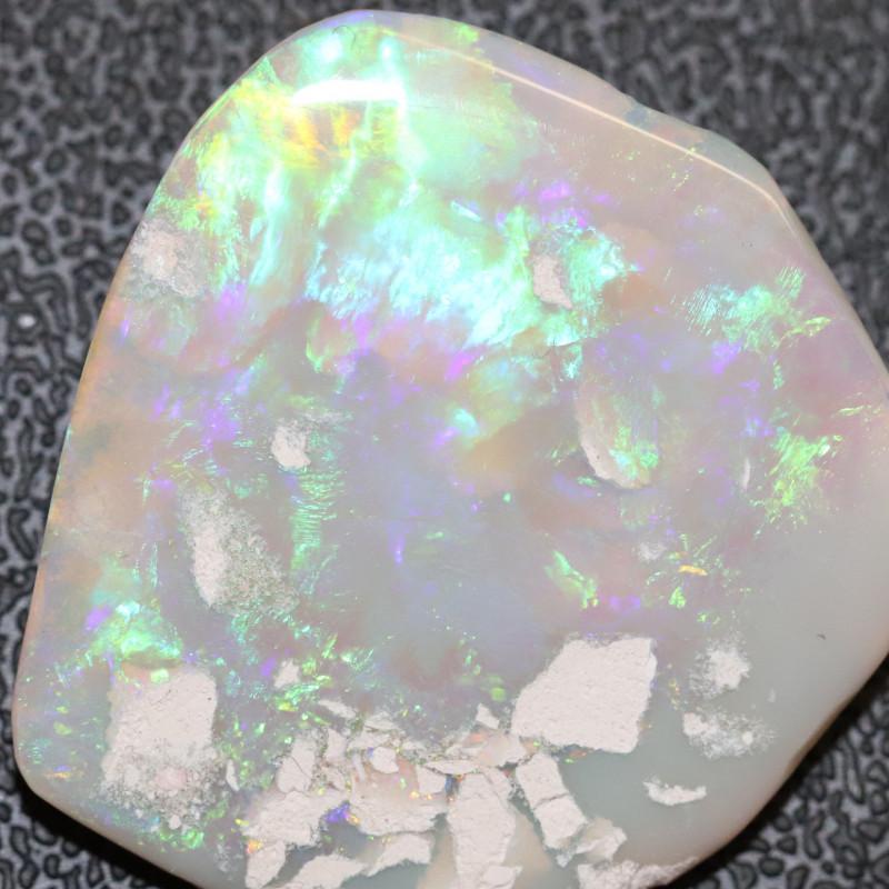 22.8cts Australian  Opal Lightning Ridge  Specimen  Polished Rough