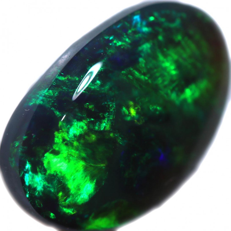 3.74 CTS BLACK OPAL STONE-FROM  LIGHTNING RIDGE - [LRO1044]