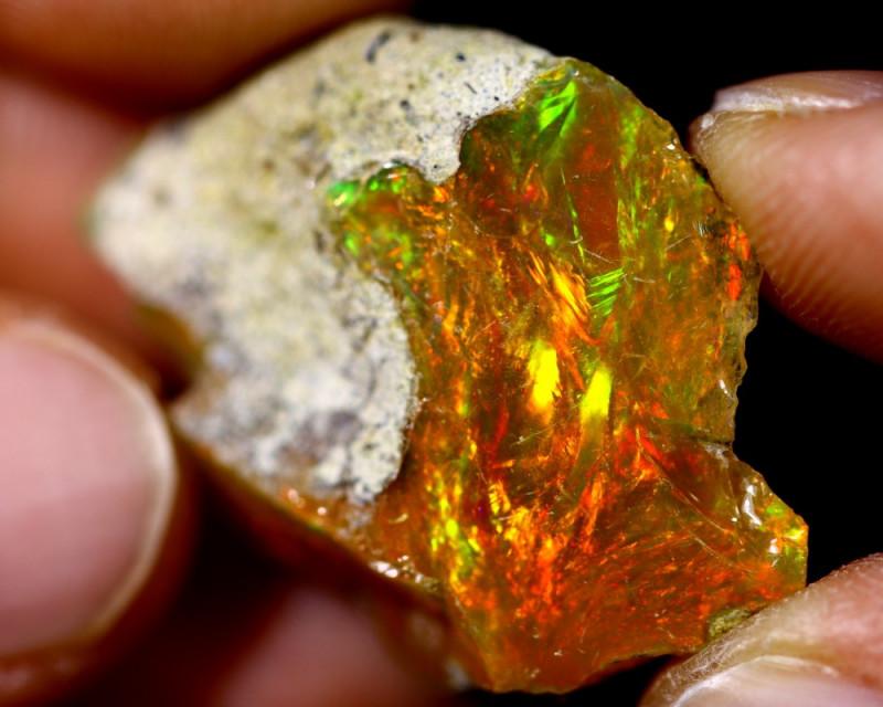 25cts Ethiopian Welo Rough Opal / WR1970