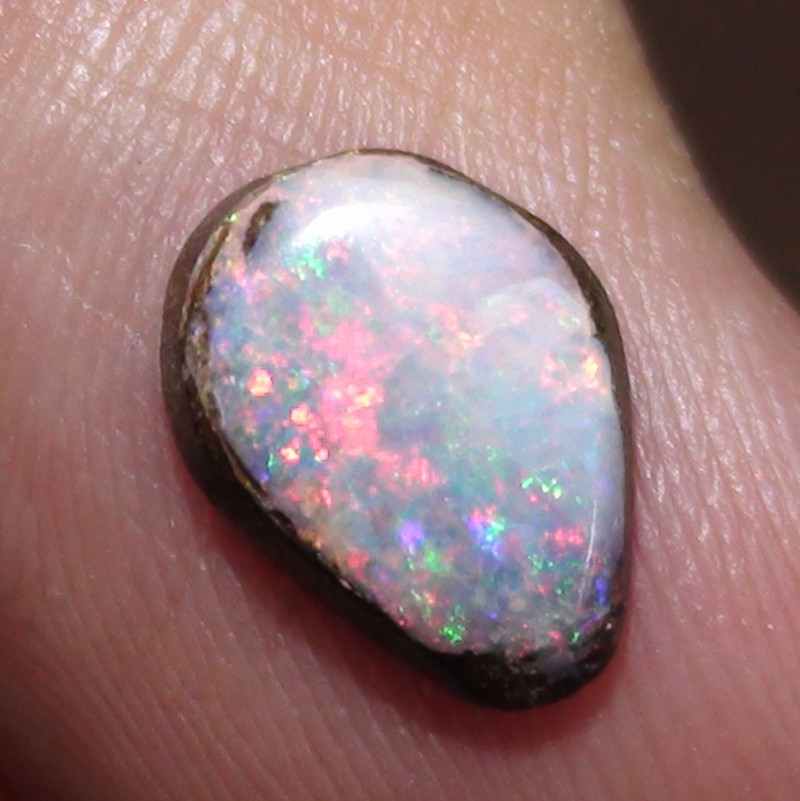 1.35 ct Beautiful Multi Color Queensland Boulder Opal