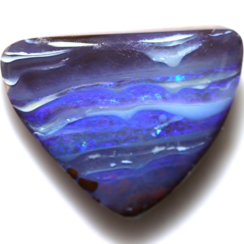 $4.50 PER CTS 28.30 CTS DRILLED BOULDER OPAL-WELL POLISHED [BMA9414]