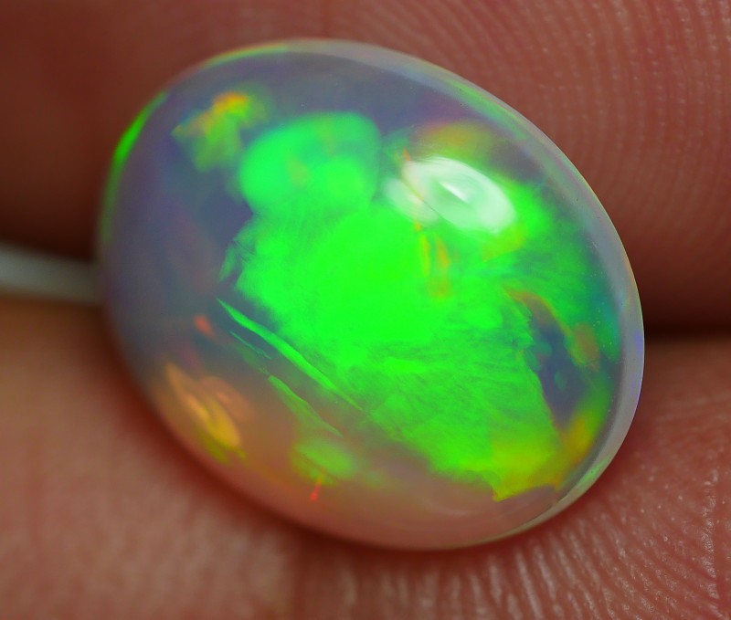 2.645 CRT BRILLIANT CRYSTAL WELO CHAFF PATTERN BEAUTY COLOR WELO OPAL-