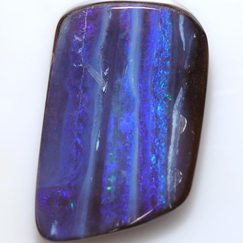 $4.50 PER CTS 42.30 CTS DRILLED BOULDER OPAL-WELL POLISHED [BMA9445]