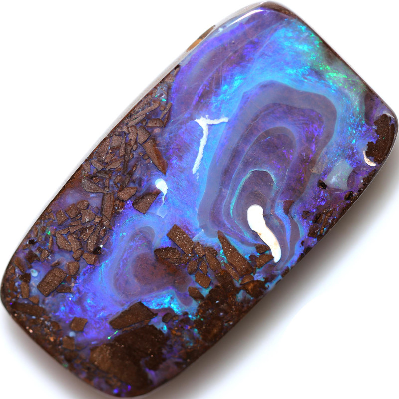 $3.85 PER CTS 76.70 CTS DRILLED BOULDER OPAL-WELL POLISHED [BMA9457]