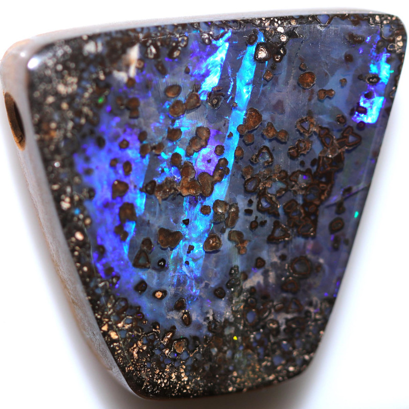 $3.48 PER CTS 70.35 CTS DRILLED BOULDER OPAL-WELL POLISHED [FJP3349]