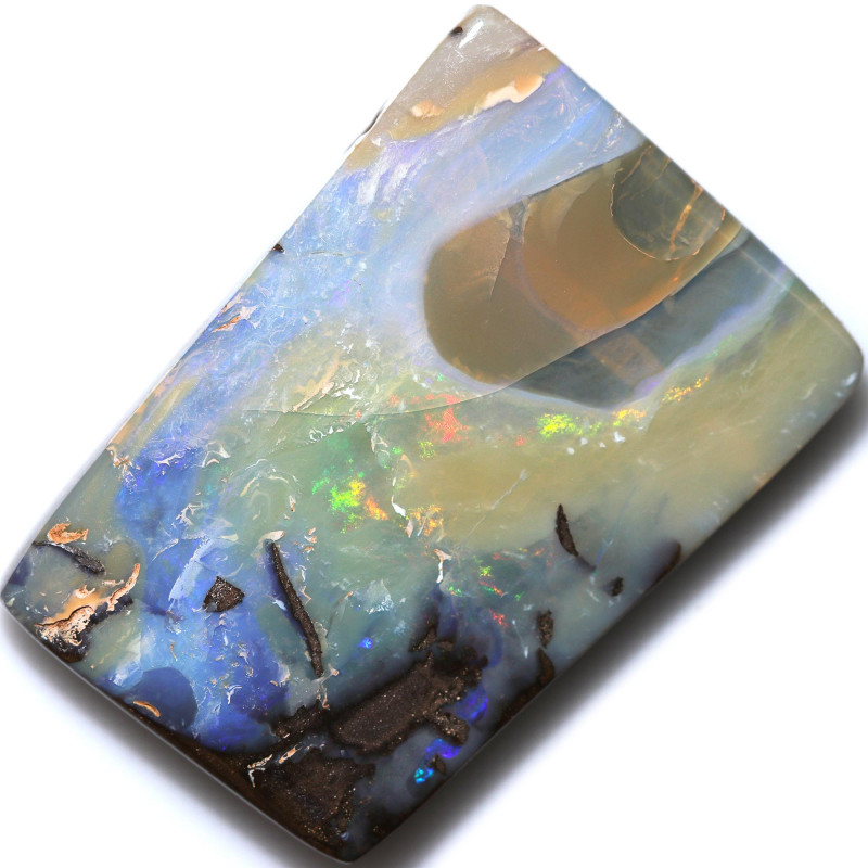 $1.70 PER CTS 176.00 CTS DRILLED BOULDER OPAL-WELL POLISHED [FJP3389]
