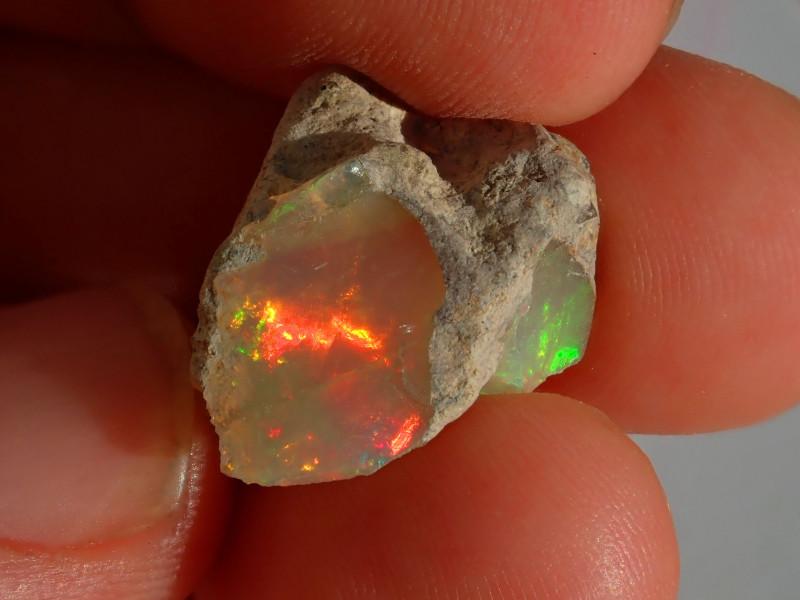 A6 Gamble Quality Rough Ethiopian Wello Opal
