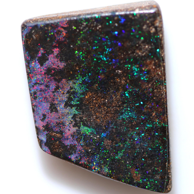 $4.50 PER CTS 28.80 CTS DRILLED BOULDER OPAL-WELL POLISHED [SEDA7116]