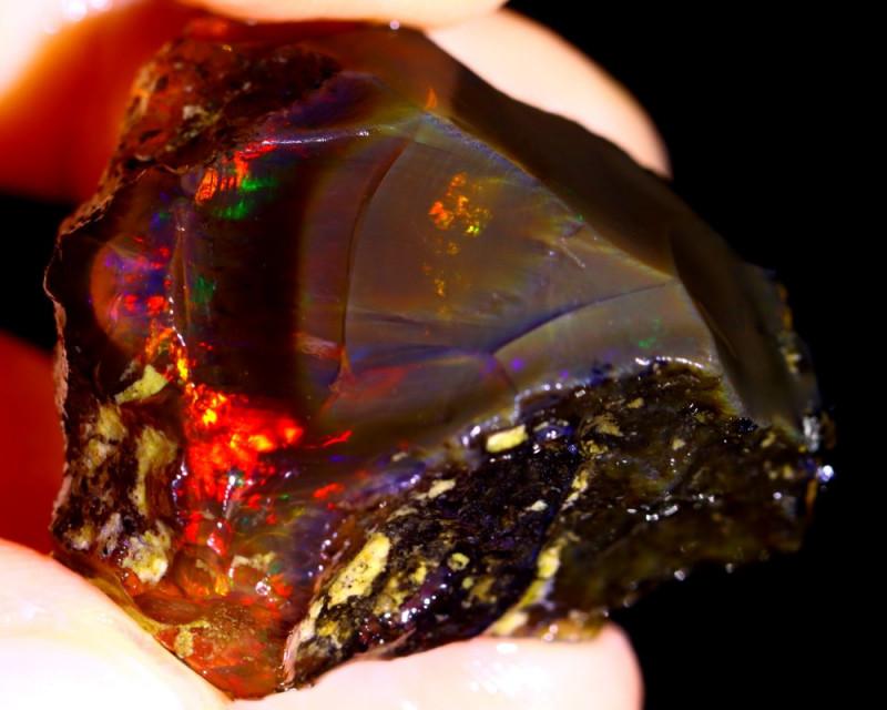 57cts Ethiopian Crystal Rough Specimen Rough / VK92
