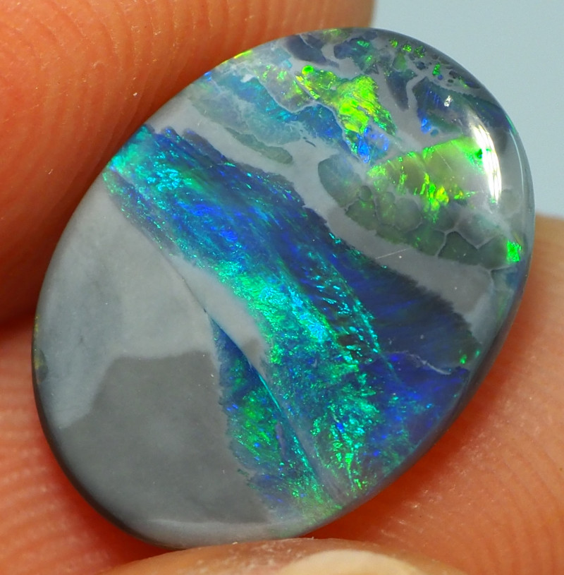 2.30CTS DARK OPAL FROM LIGHTNING RIDGE AL244