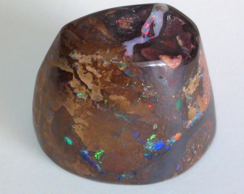195.30 ct Gem Multi Color Queensland Koroit Boulder Opal Specimen