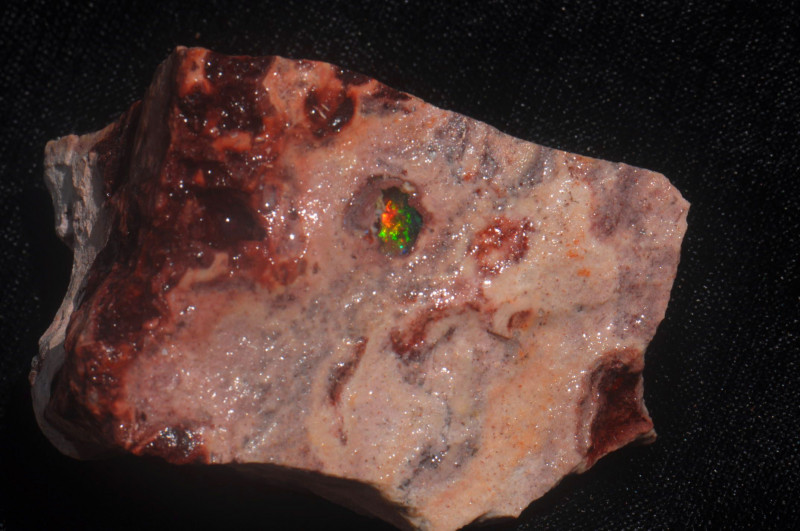 Mexican Matrix Fire Opal