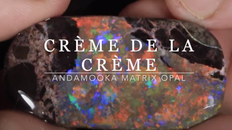 1#  -  Andamooka Matrix Opal Rough [26986]