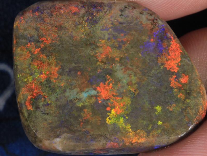 1#  -  Andamooka Matrix Opal Rough [26988]