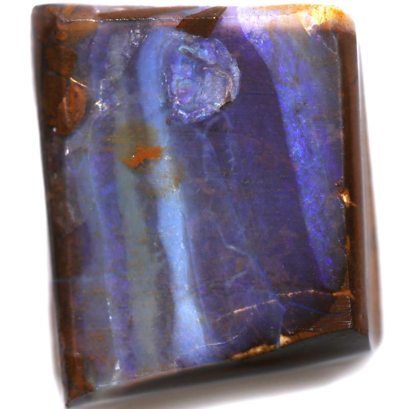 33.60 CTS  BLUE  BOULDER ROUGH-JUNDAH [BY8407]