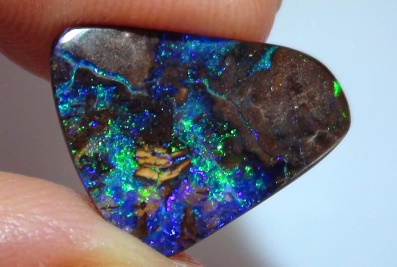 5.50 ct Boulder Opal Natural Gem Blue Green