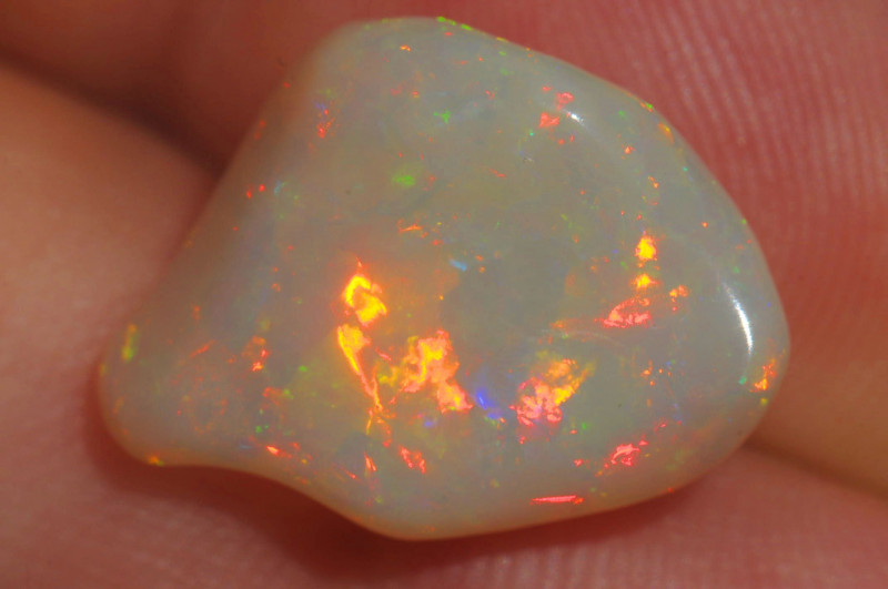 6.07ct Large Welo Bright Solid Natural Ethiopian Opal