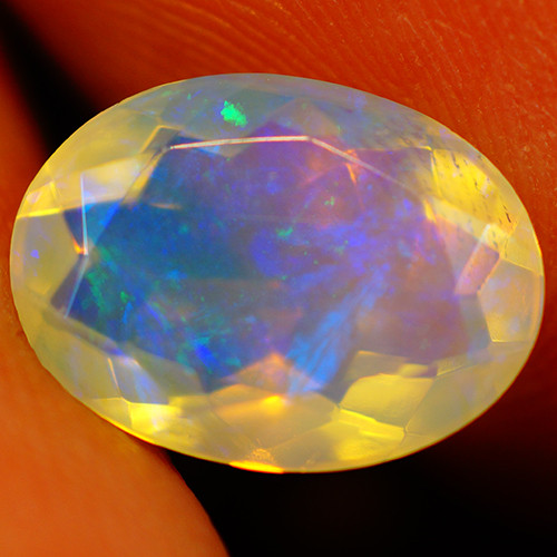 1.78CT 11X8MM Extra Fine Quality Faceted Cut Ethiopian Opal -GF185