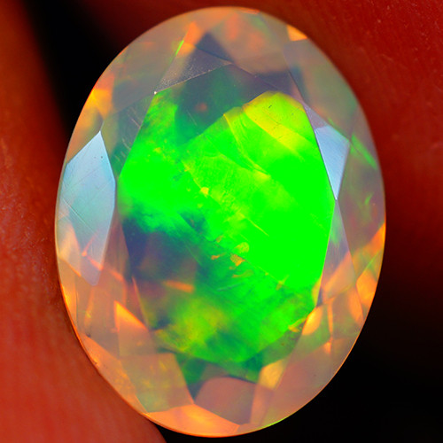 2.89 CT Extra Fine Quality Faceted Cut Ethiopian Opal -GF202