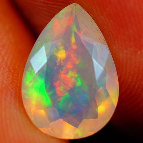 1.91 CT Extra Fine Quality Faceted Cut Ethiopian Opal -GF227