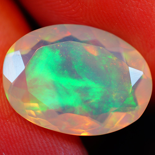 4.76 CT Extra Fine Quality Faceted Cut Ethiopian Opal -GF244