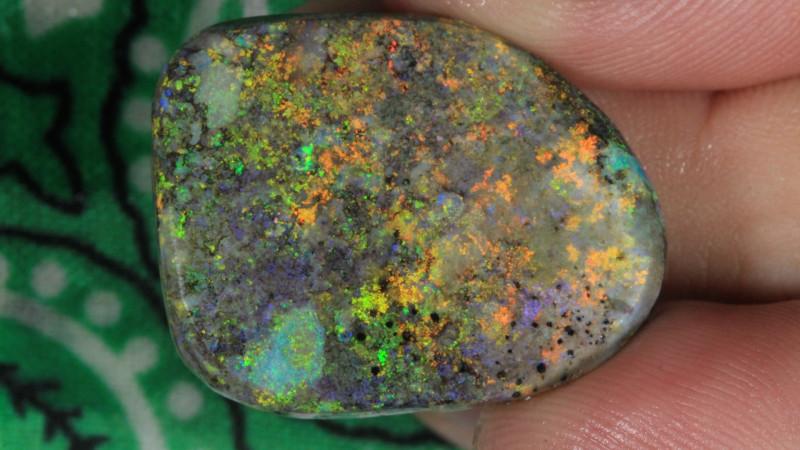 1#  -  Andamooka Matrix Opal Rough [27230]