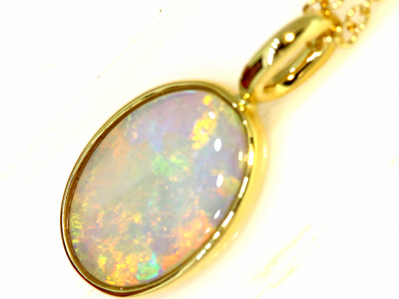 14.36 CTS CRYSTAL OPAL PENDANT   OF-11TM  LAZ